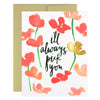 Our Heiday I'll Always Pick You Greeting Card
