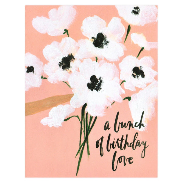 Bunch of Birthday Love Greeting Card By Our Heiday