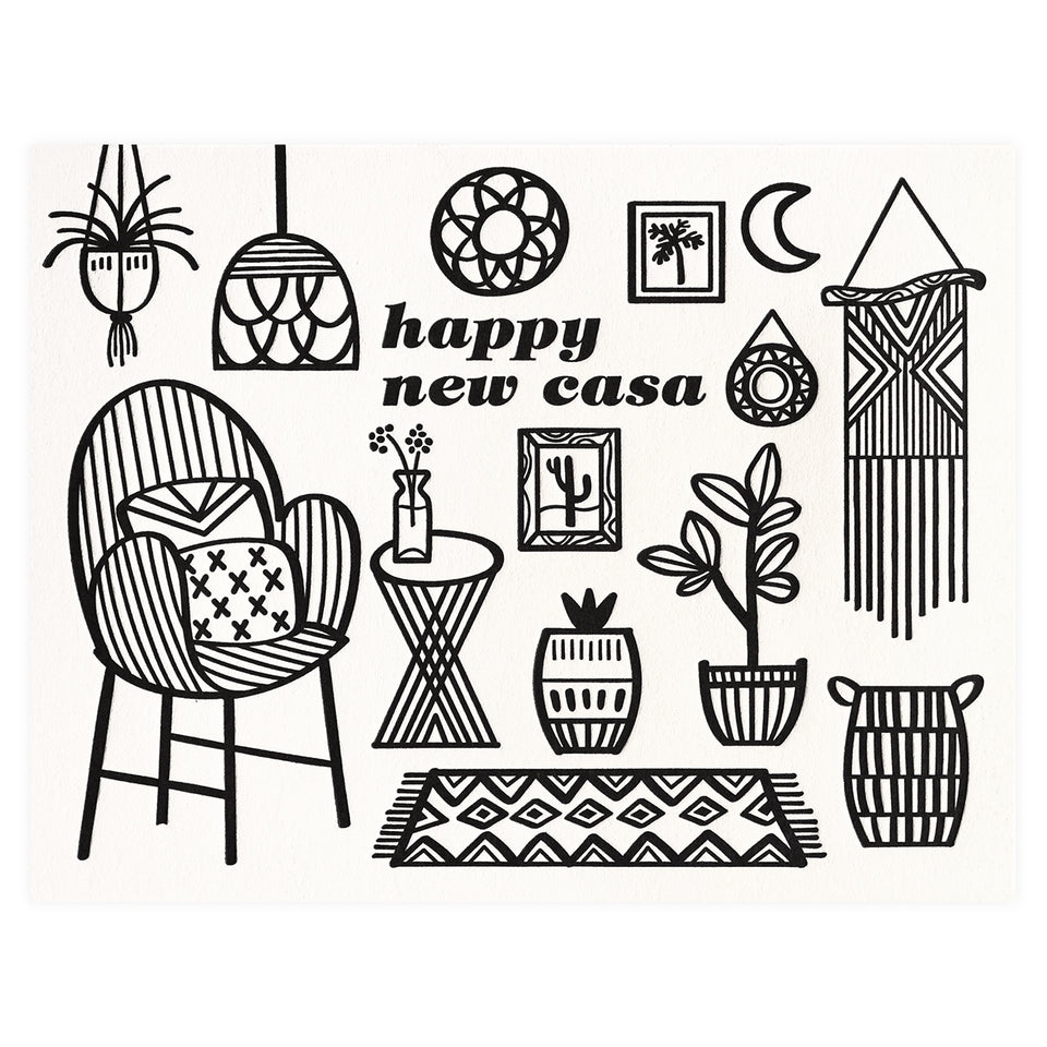 Paper Parasol Press New Casa Greeting Card
