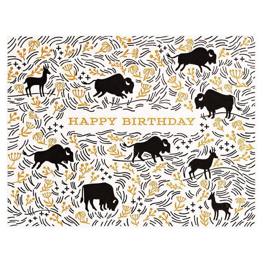 Paper Parasol Press Prairie Birthday Greeting Card