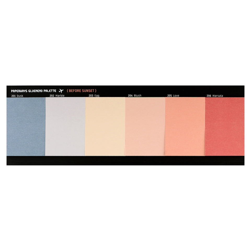 Paperways Paperways Gluememo Palette Sticky Notes Before Sunset