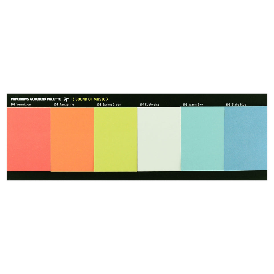 Paperways Paperways Gluememo Palette Sticky Notes Sound of Music