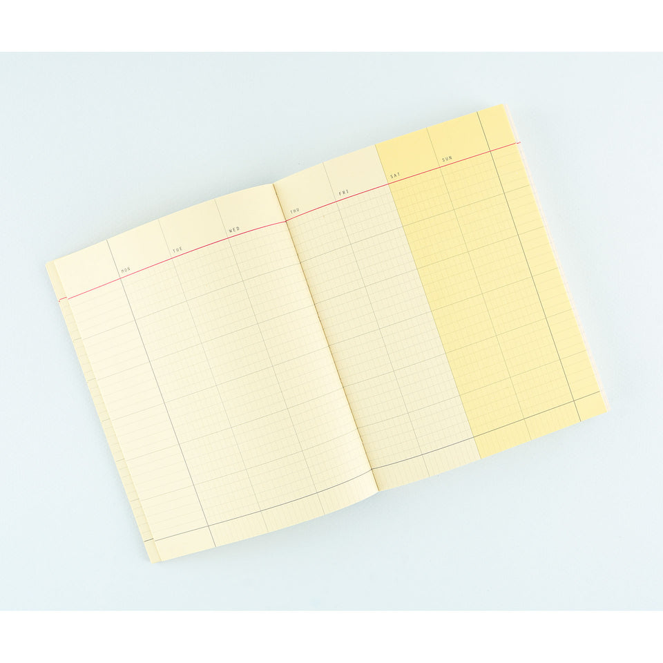 Paperways Paperways Journal Monthly Undated Planner