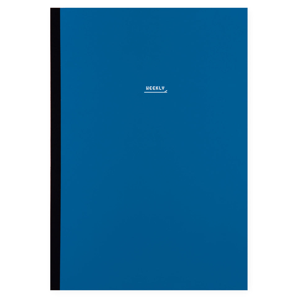 Paperways Paperways Notebook Weekly Planner Undated Cadet Blue | 3 Sizes