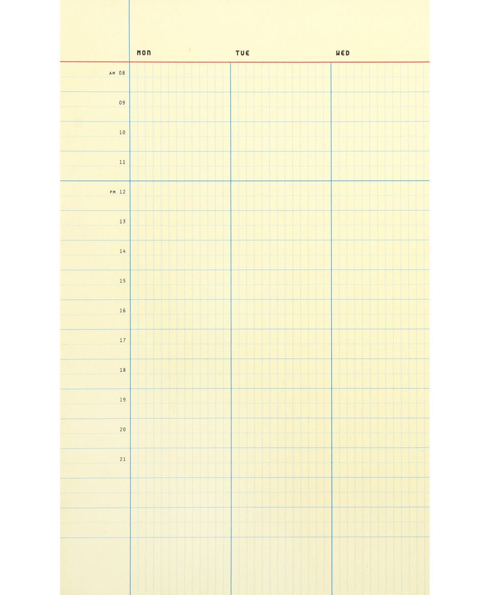 Paperways Desk Notepad Weekly Organizer A4