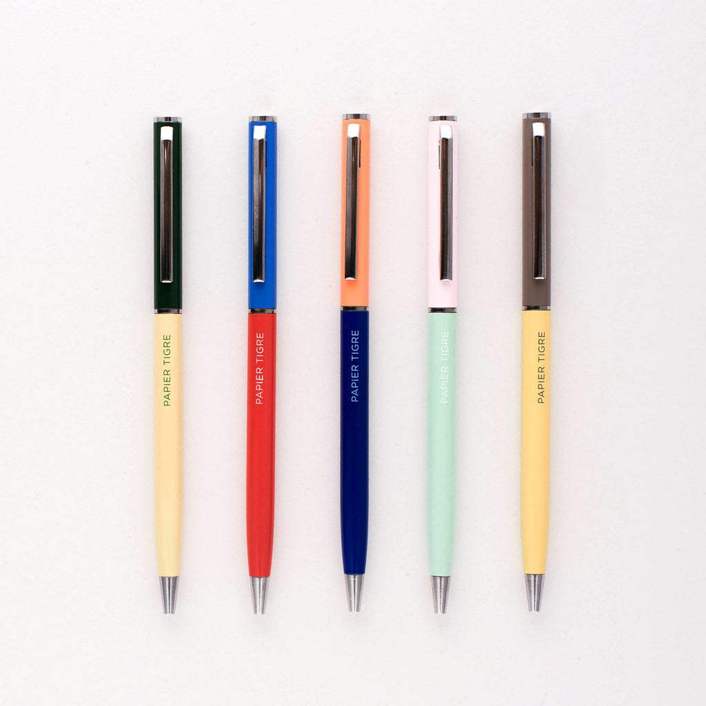 Papier Tigre Ballpoint Pen | 5 Colorways