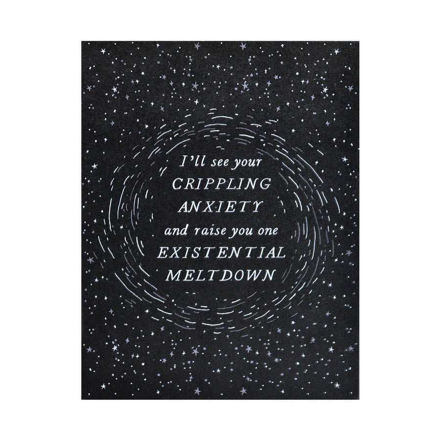 Alisa Bobzien Existential Meltdown Greeting Card - GREER Chicago Online Stationery Shop
