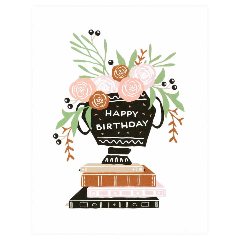 Party Of One Paper Birthday Bouquet Greeting Card