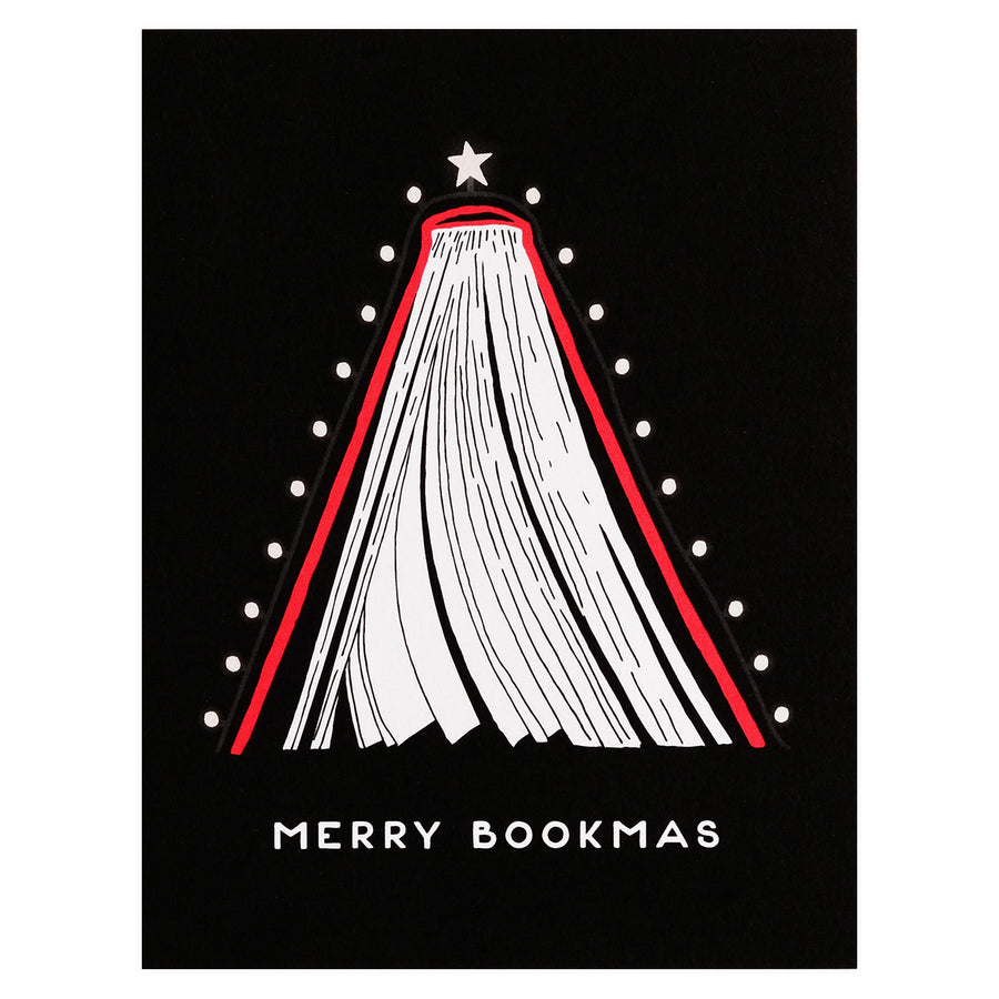 Party Of One Paper Merry Bookmas Christmas Cards Boxed