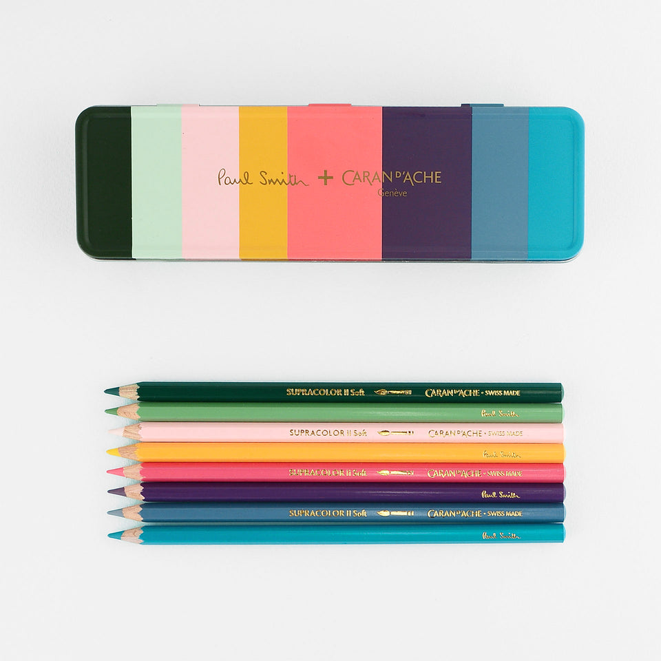 Caran d'Ache Caran d'Ache x Paul Smith Supracolor Pencils Set