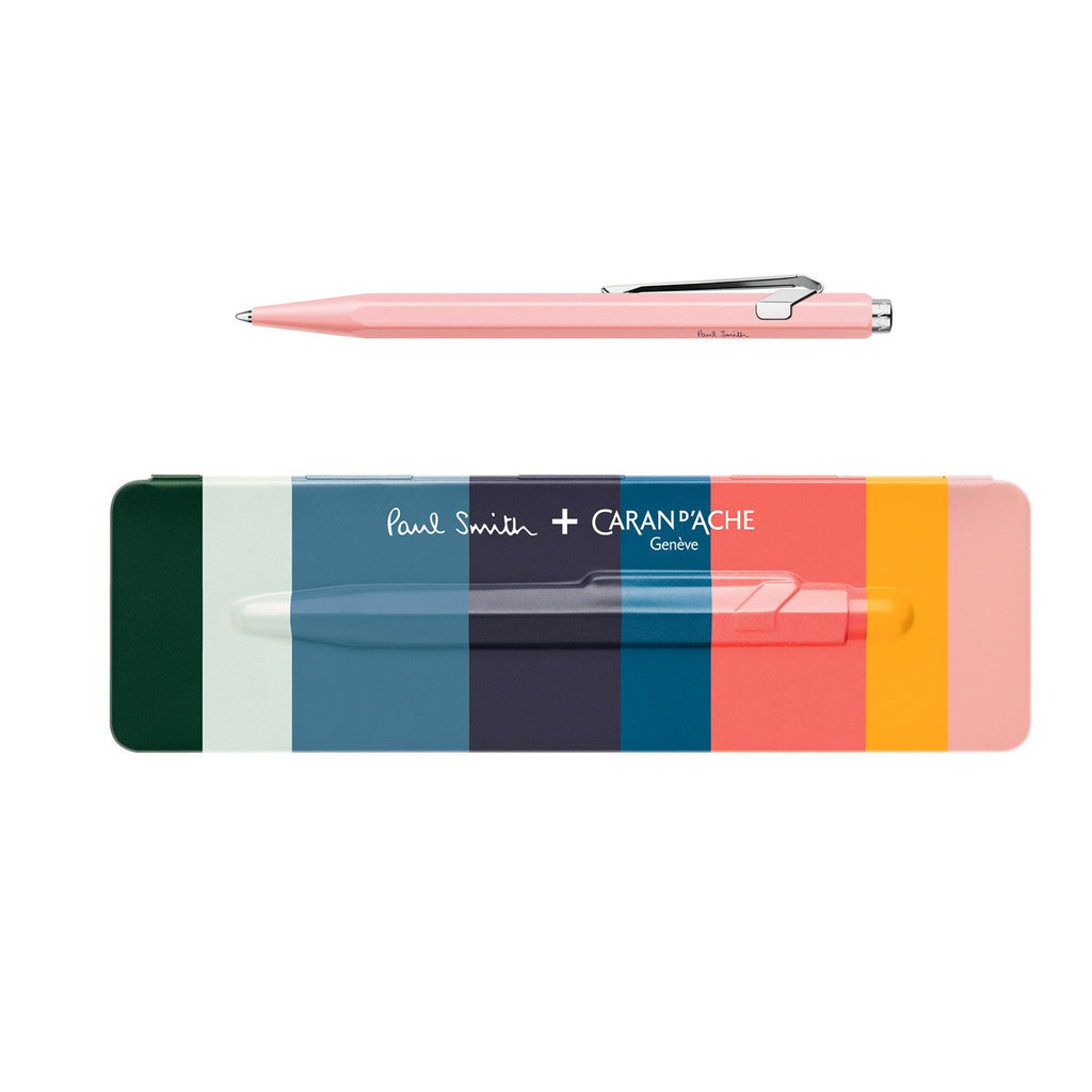 Collection 849 Paul Smith x Caran d'Ache Limited Edition Ballpoint Rose Pink By Caran d'Ache - 1