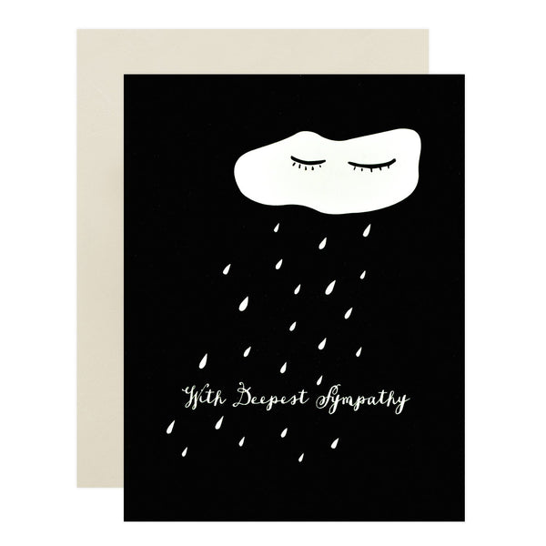 Cloud Sympathy Card