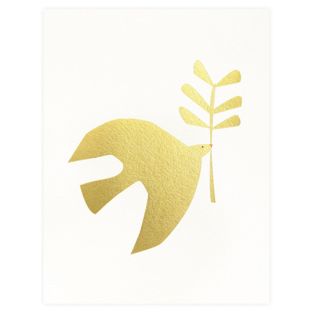 Peace Dove Holiday Card By Red Cap Cards