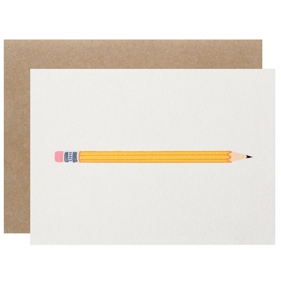 Gold Teeth Brooklyn Pencil Greeting Card