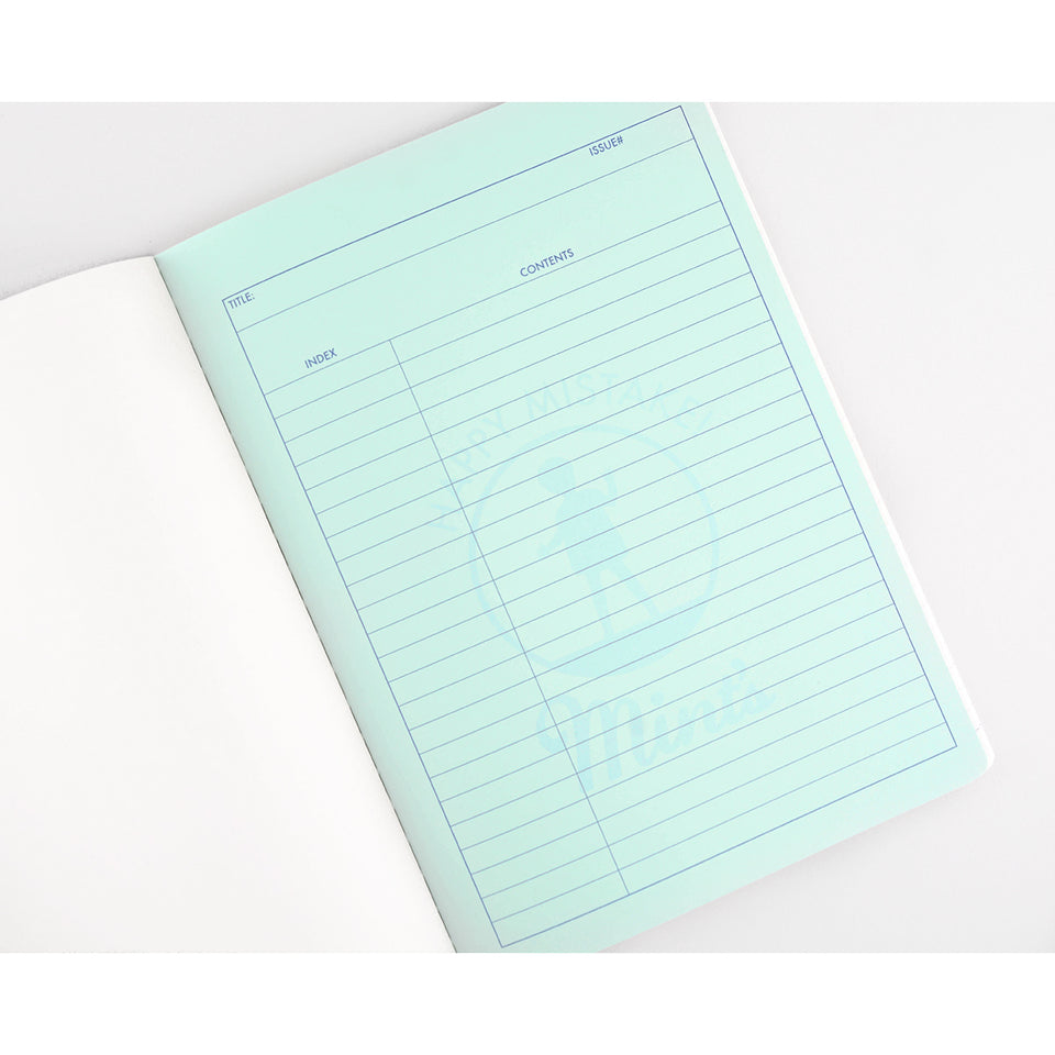 Hightide Hightide x Mint Designs Penco Foolscap Silver  A5 or B5 Notebook