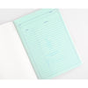 Hightide Hightide x Mint Designs Penco Foolscap Gold  A5 or B5 Notebook