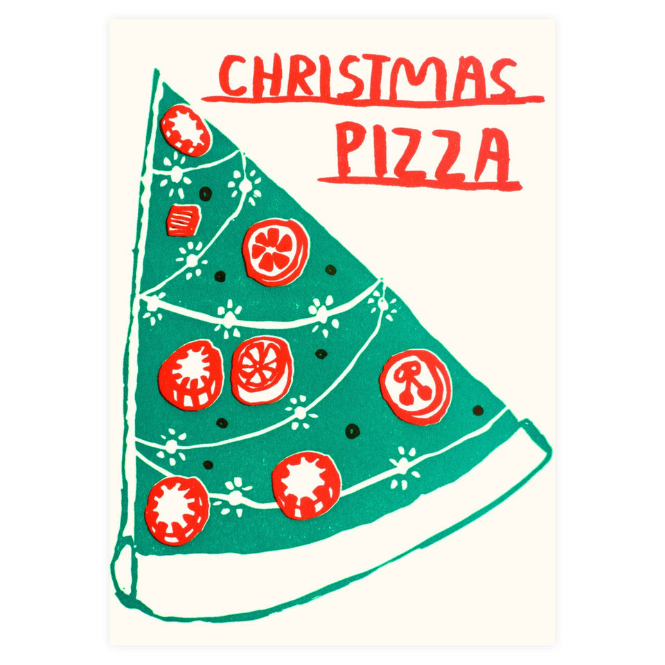 People I've Loved Christmas Pizza Boxed Cards