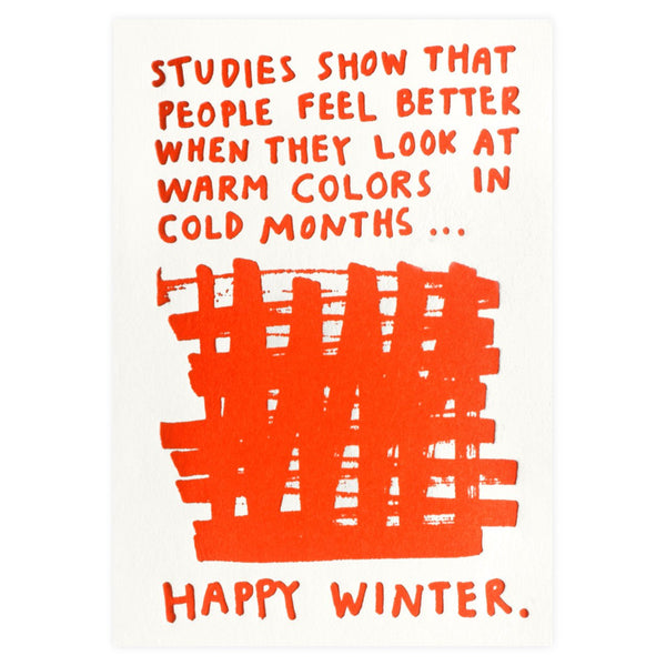 Happy Winter Boxed Holiday Cards By People I've Loved