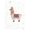 Petra Boase Iron On Patch Card Llama