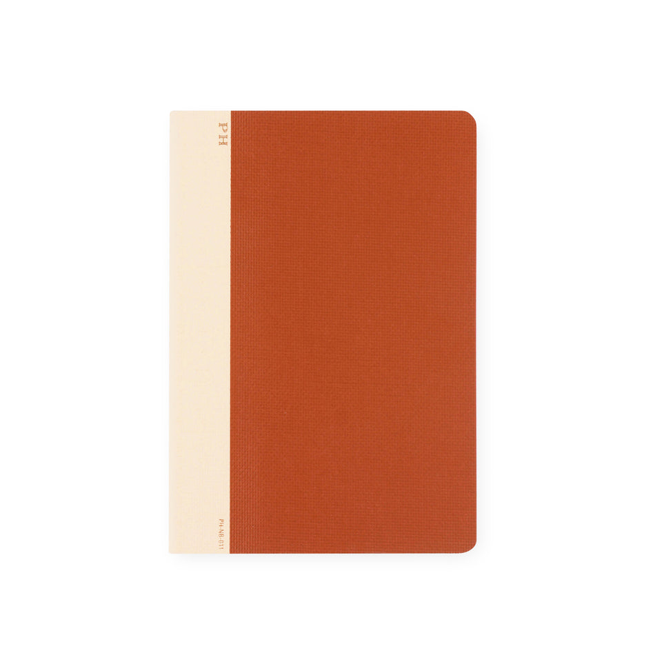 Hightide PH Cheesecloth Notebook Red | B6 or B5 B6