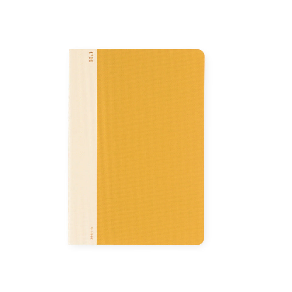 Hightide PH Cheesecloth Notebook Yellow | B6 or B5 B6