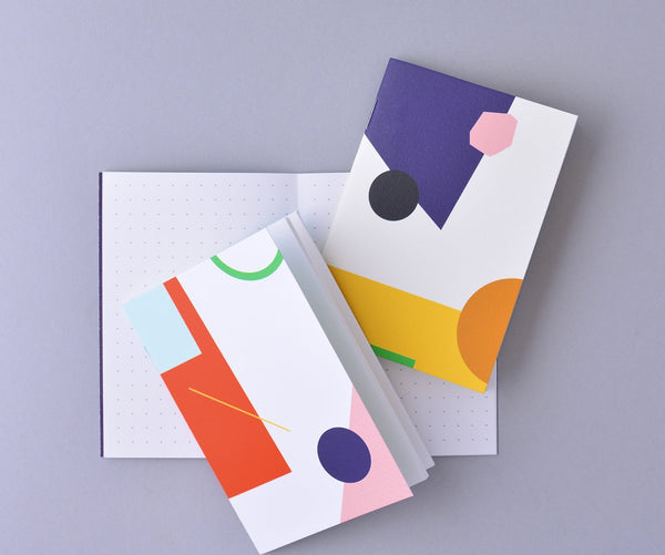 Collage Pocket Notebook Set Of Three