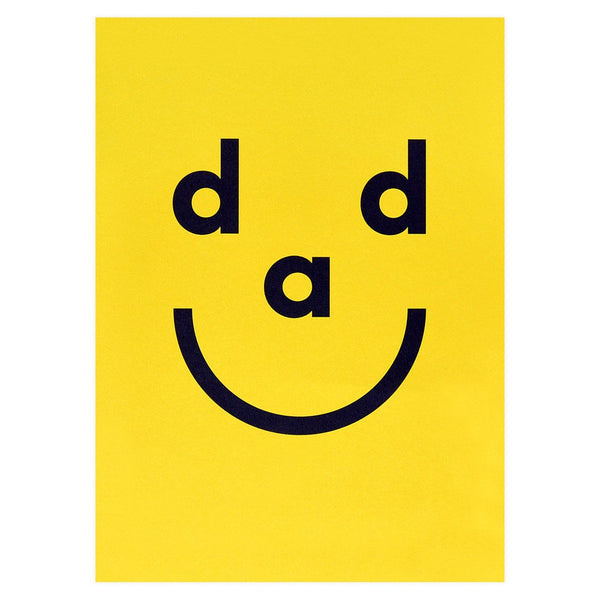 Dad Smiley Father's Day Card