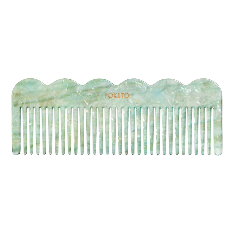 Poketo Poketo Wave Comb Mint