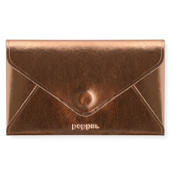 Poppin Copper Card Case - GREER Chicago Online Stationery