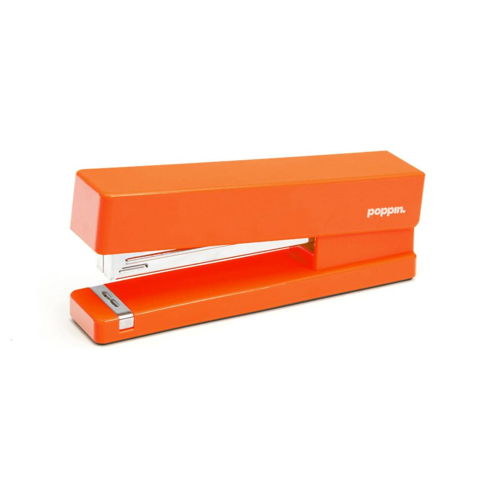 Poppin Orange Stapler - GREER Chicago Online Stationery Shop