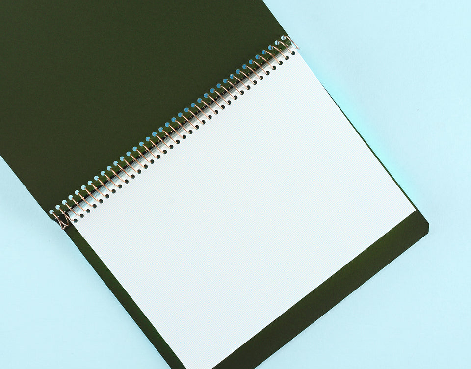 Postalco Notebook A5 Pingraph Ivory
