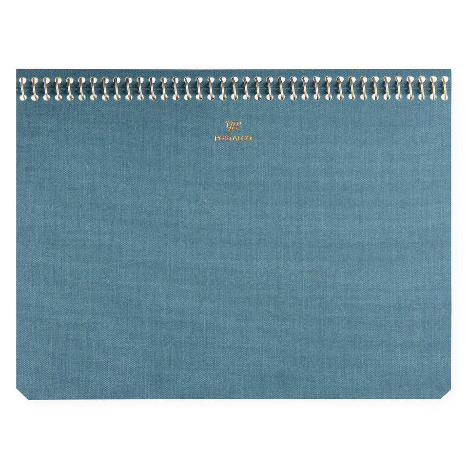 Postalco Postalco Notebook Light Blue Pingraph A5