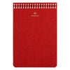 Postalco A6 Pingraph Notebook Signal Red