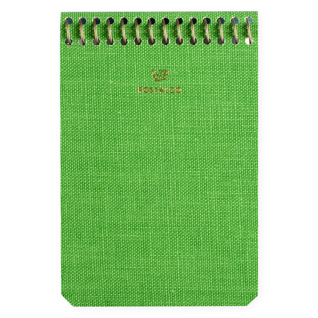 Postalco Notebook A7 Blank Apple Green