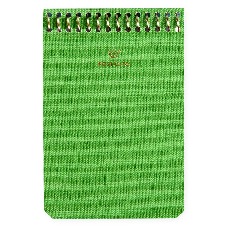 Postalco Apple Green Notebook Blank A7
