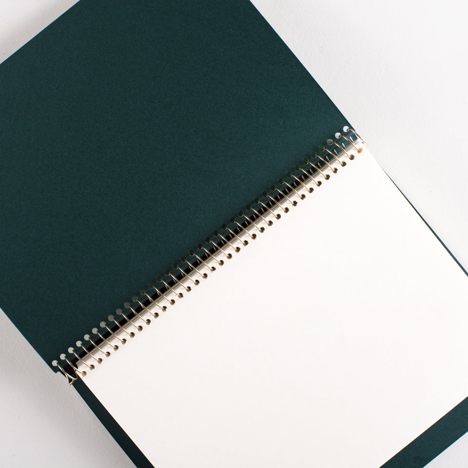 Postalco Square Dyed Notebooks Kelp | A5, A6 or A7