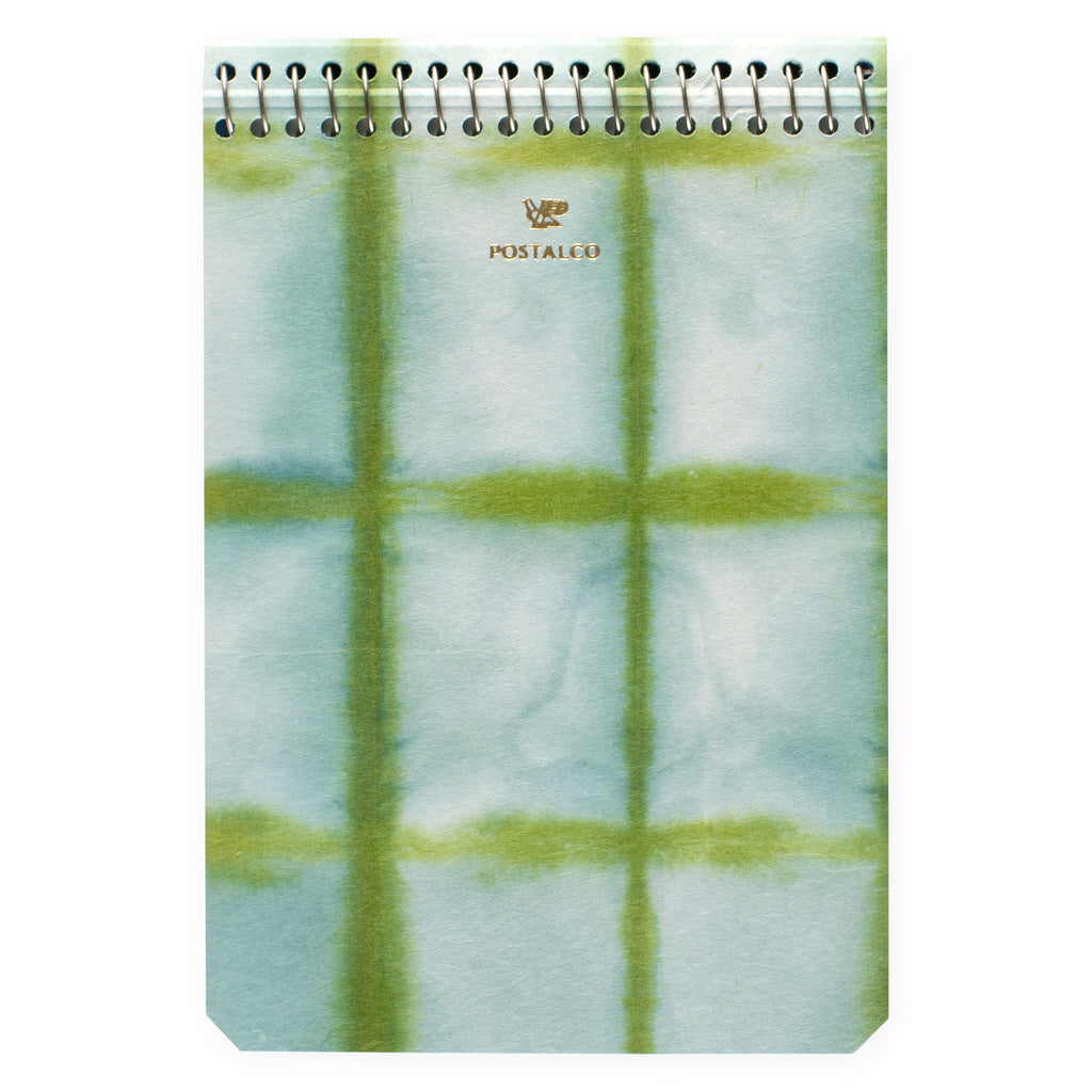 Postalco Square Dyed Notebooks Moss | A5, A6 or A7 A6