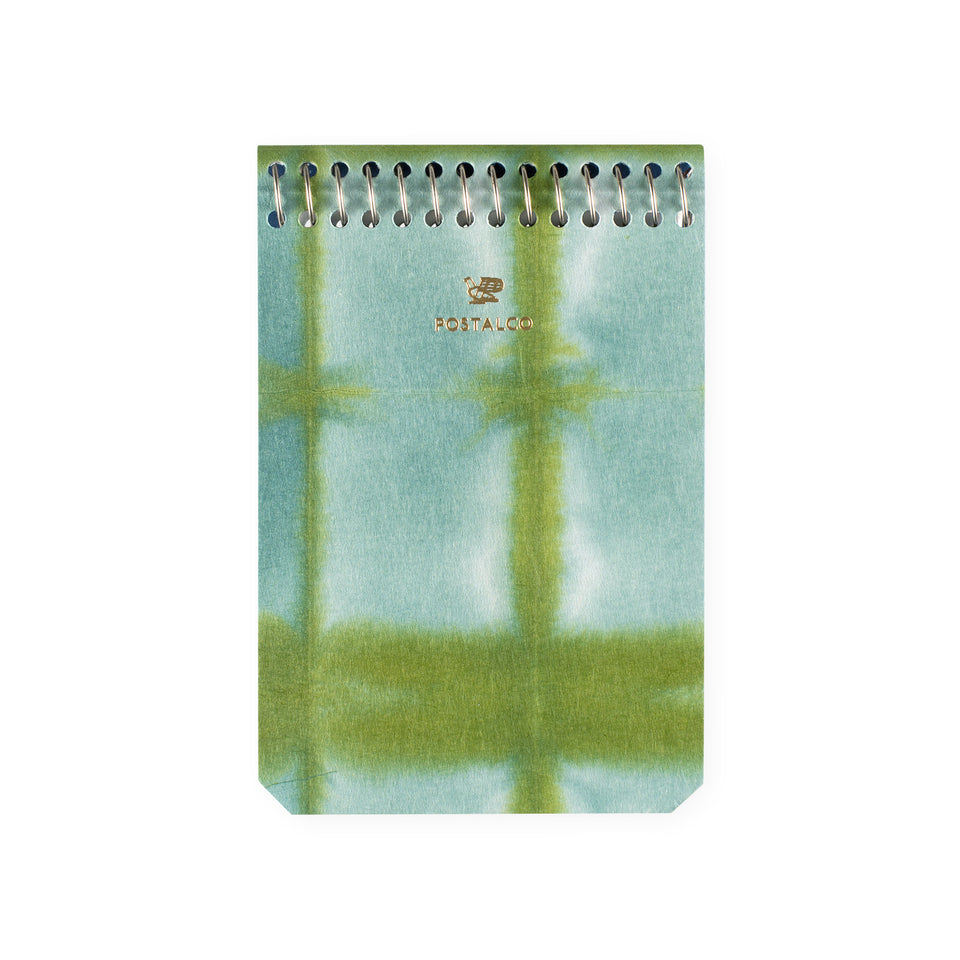 Postalco Square Dyed Notebooks Moss | A5, A6 or A7 A7