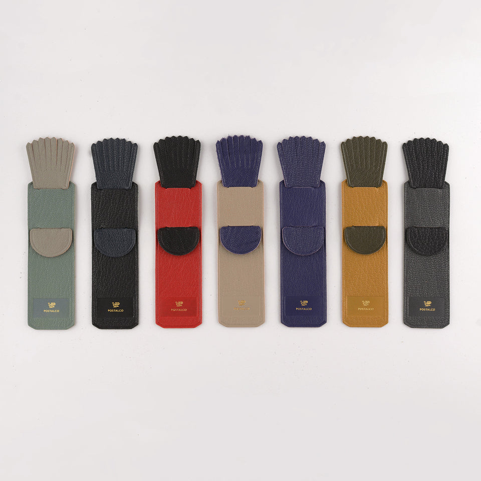 Postalco Leather Tassel Bookmark | 7 Colors