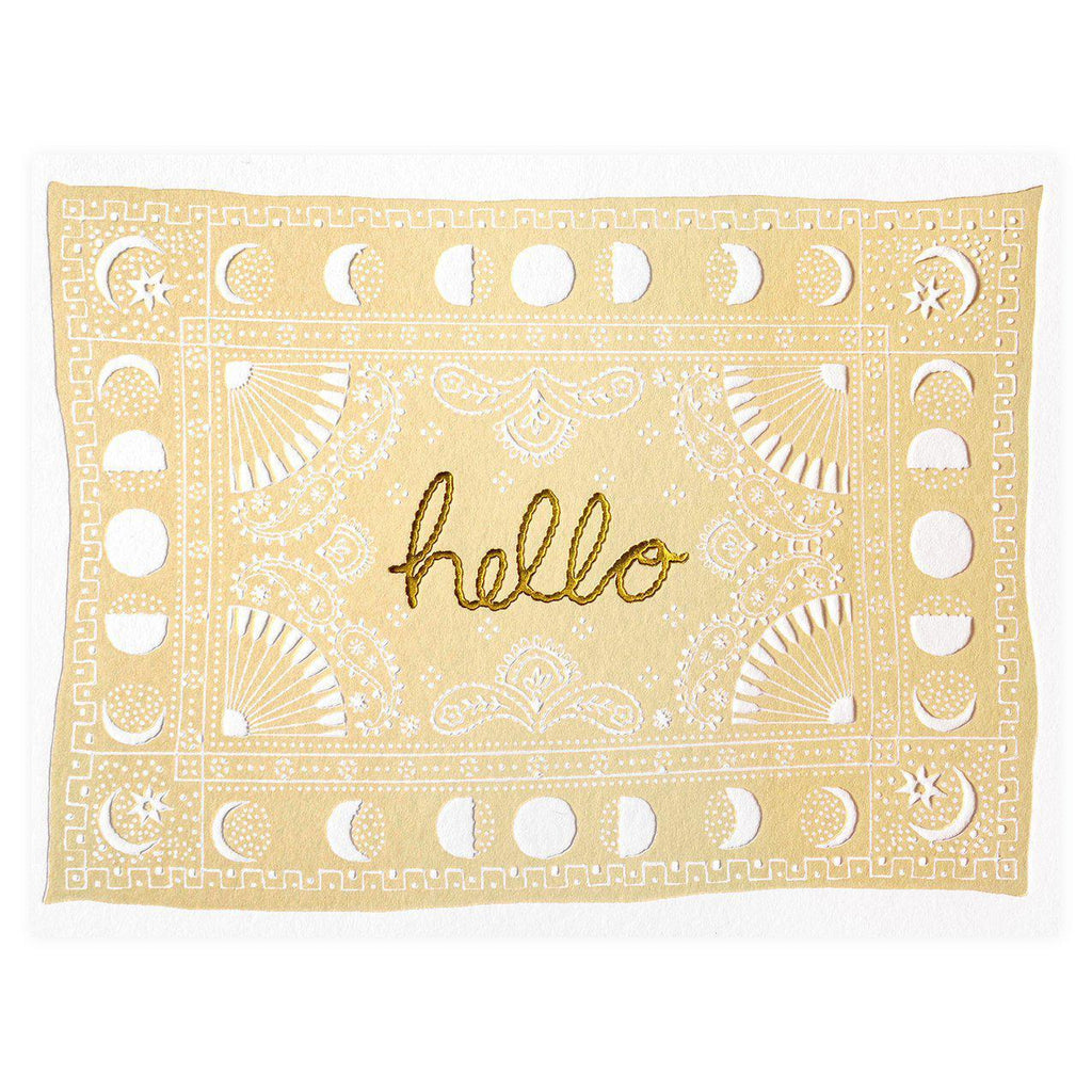 Printfresh Voloshin Hello Greeting Card
