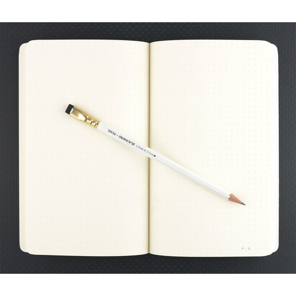 "5 x 8"" Dot or Ruled Notebook Black 01 By Public - Supply - 3"