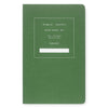 "Public - Supply 5 x 8"" Dot Grid or Ruled Notebook Green 01 - GREER Chicago Online Stationery Shop"
