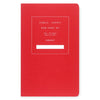 "Public - Supply 5 x 8"" Dot Grid or Ruled Notebook Red 02 - GREER Chicago Online Stationery Shop"