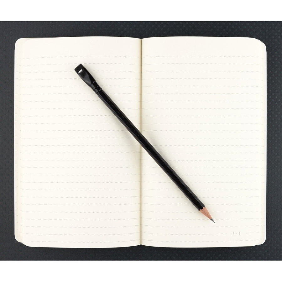 "Public - Supply 5 x 8"" Dot or Ruled Notebook Black 01 - GREER Chicago Online Stationery Shop"