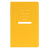 "Public - Supply 5 x 8"" Dot Grid or Ruled Notebook Yellow 01 - GREER Chicago Online Stationery Shop"