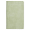 "Public - Supply 5 x 8"" Velvet Embossed Cover Dot Grid or Ruled Notebook Sage - GREER Chicago Online Stationery Shop"