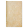 "Public - Supply 5 x 8"" Velvet Embossed Cover Dot Grid or Ruled Notebook Putty - GREER Chicago Online Stationery Shop"