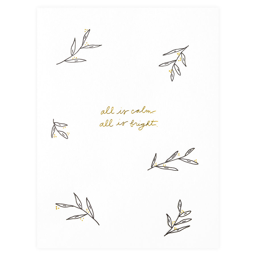 Ramona & Ruth All Is Calm All is Bright Christmas Cards Boxed