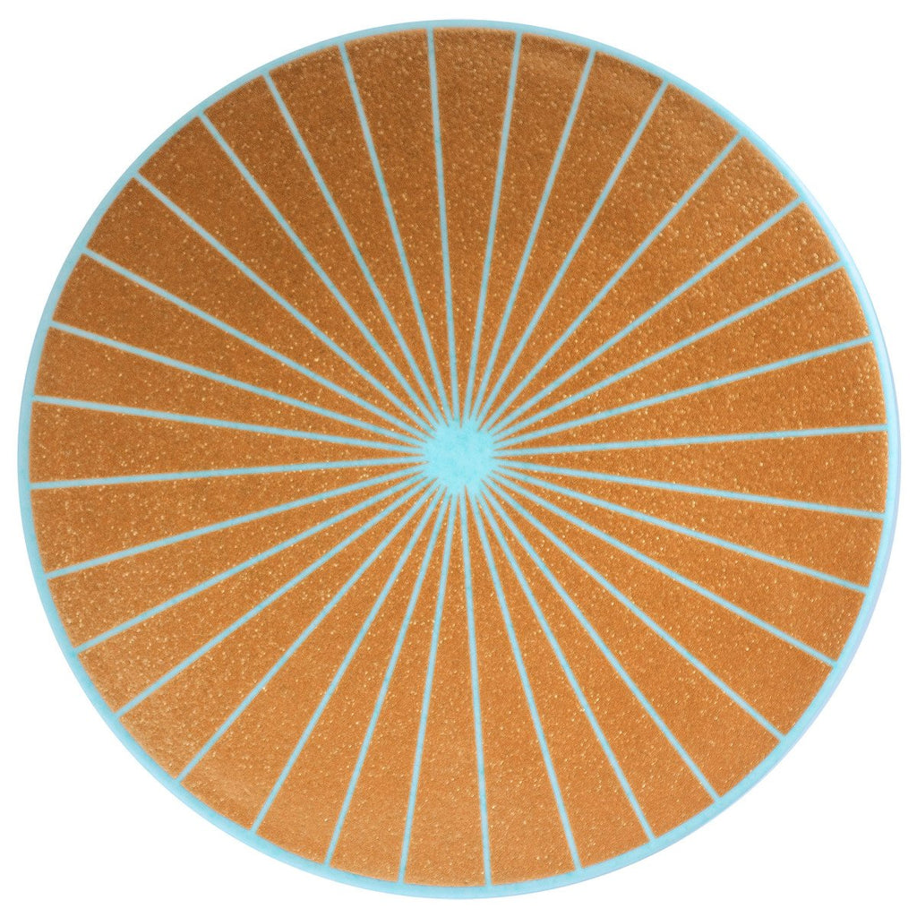 Ceramic Ray Trivet Blue - GREER Chicago Online Stationery
