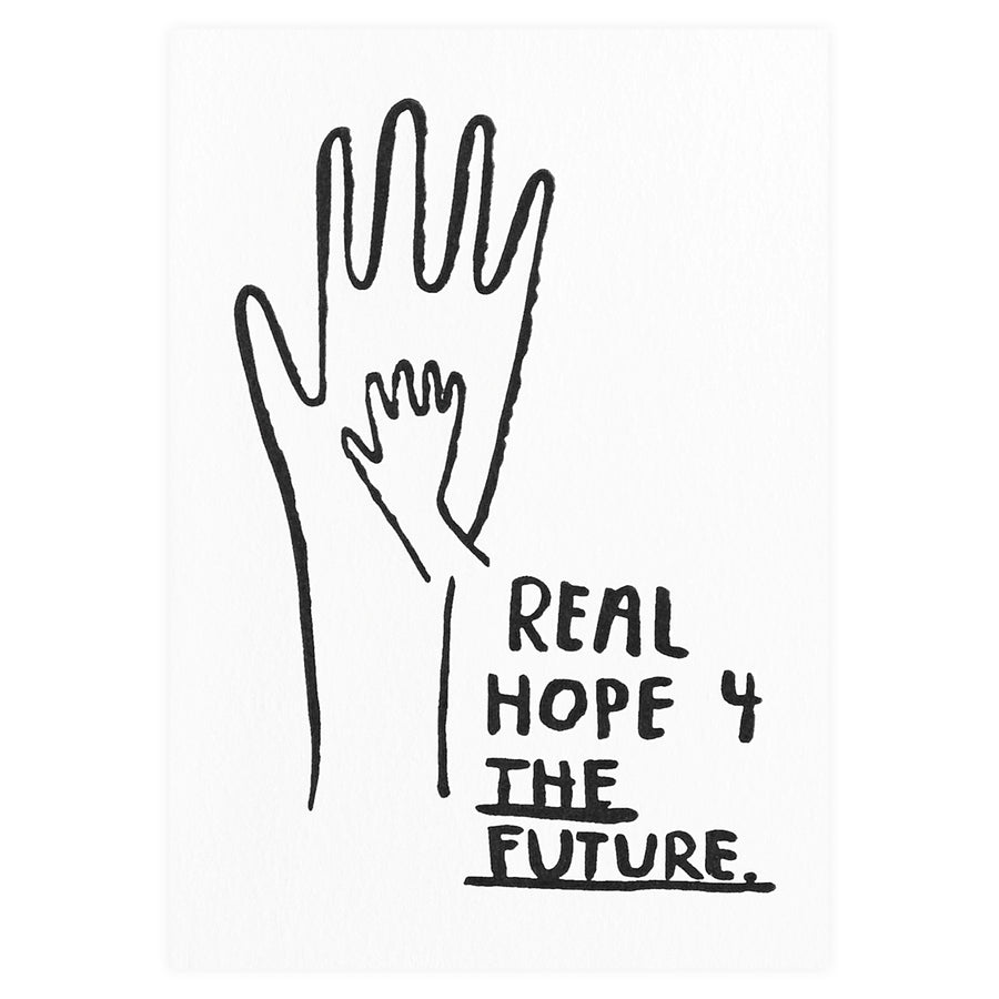 People I've Loved Real Hope For the Future New Baby Card
